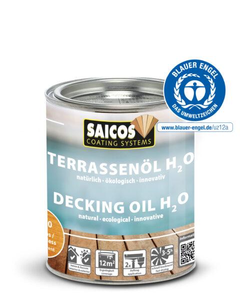 Olej do tarasów H2O